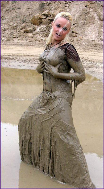 Fully Clothed Women Covered In Piss