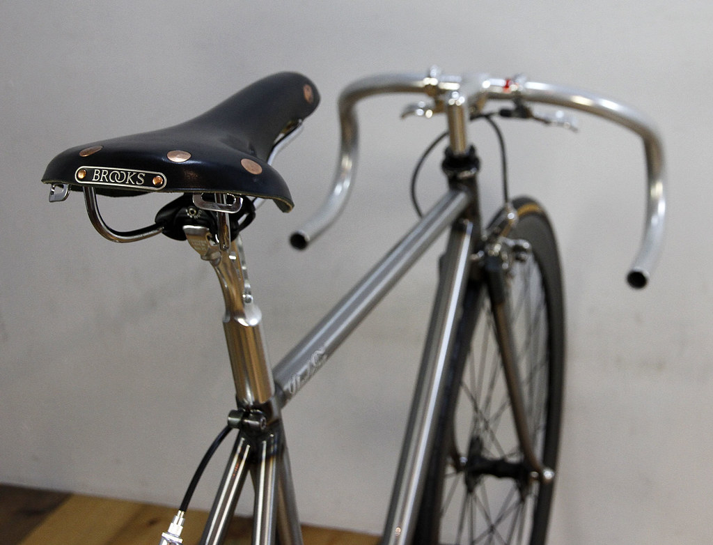Mr.NAKAOKA\'S STEEL ERA   Steel era raw with clear coat Frame…   Flickr