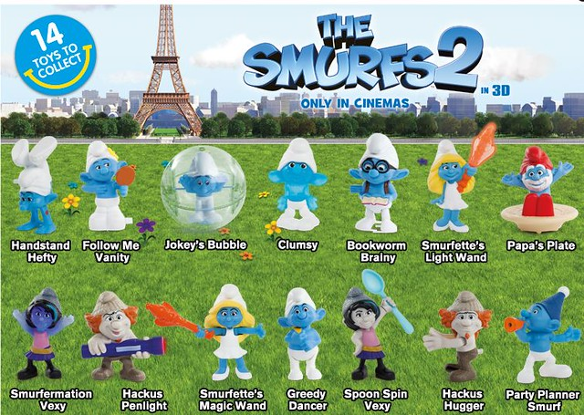 Mcdonald S Happy Meal Toys 2013 : Mcdonald s happy meal toys sept smurfs flickr
