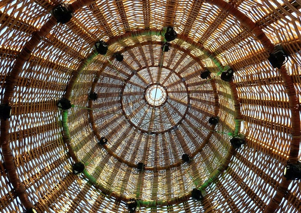 Linz Bambus Kuppel Innen Walter Strimmer Flickr