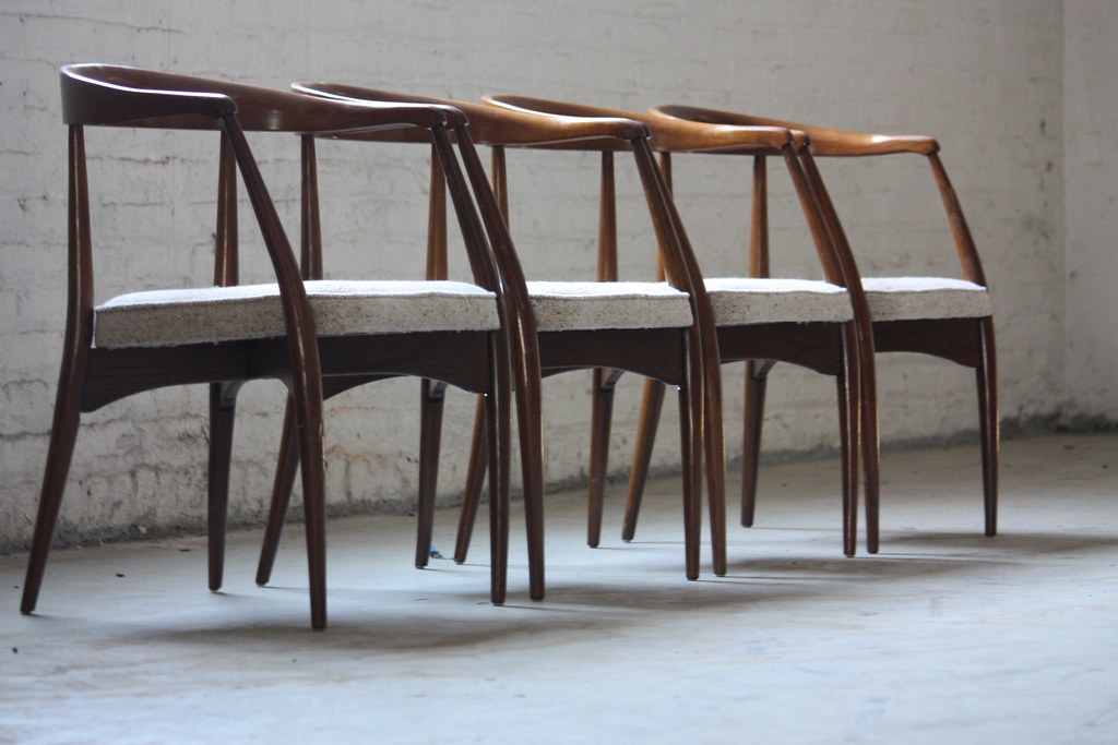 ... Pure Lawrence Peabody Mid Century Modern Dining Chairs For Richardson  Nemschoff (U.S.A. 1960s) |