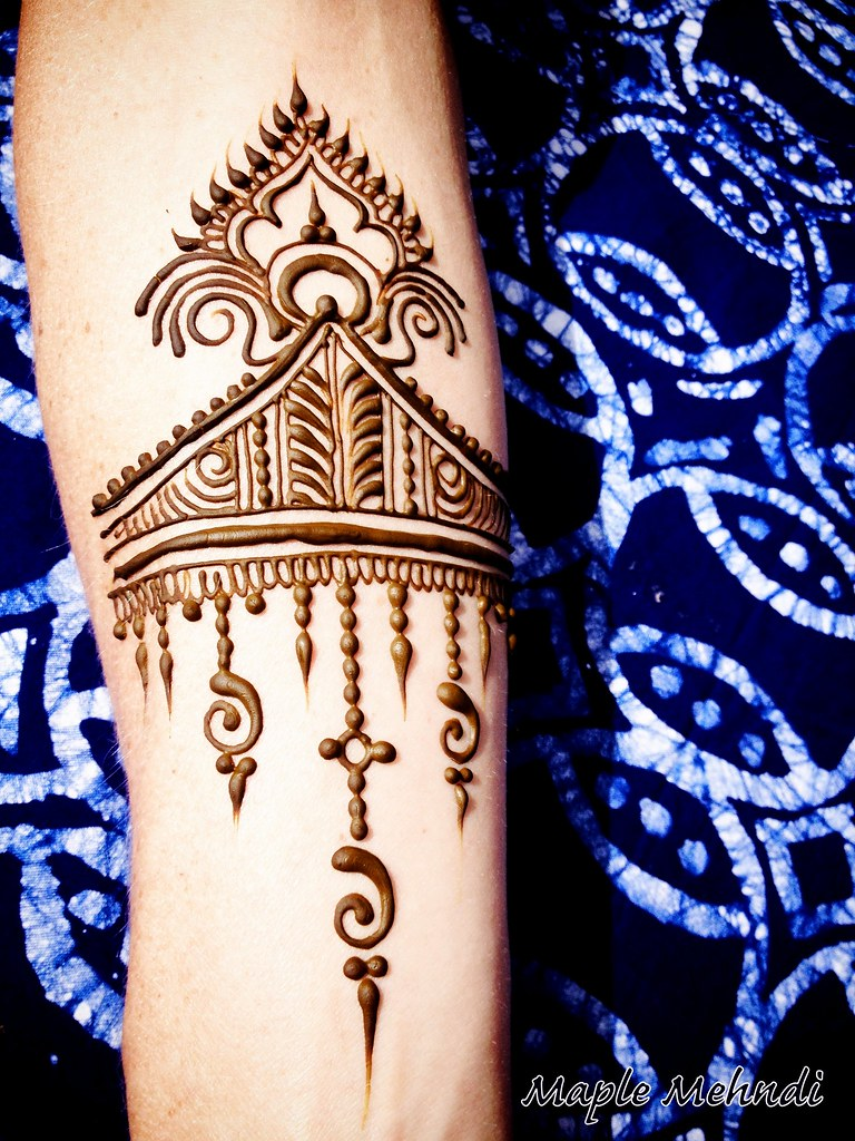 Henna Designs For Inner Arm: Simple Design On The Inner Arm Can Be So