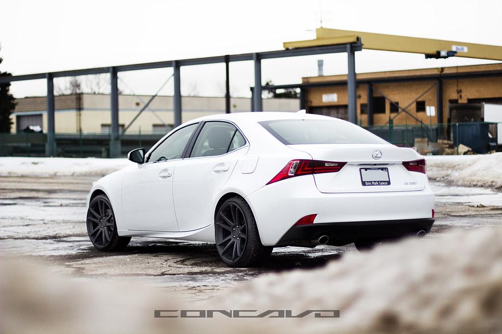 Lexus Is250 On Matte Black Cw S5 Www Concavowheels Com