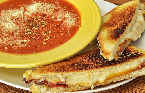 Mmm... The classic soup and sammy combo | by jeffreyw