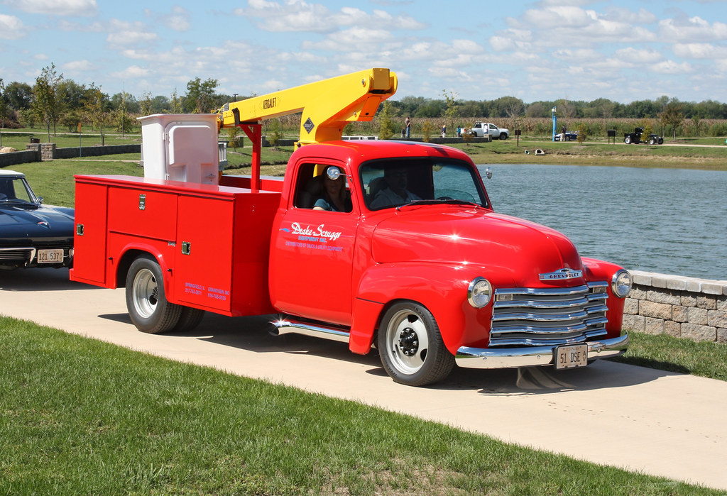 1951 Chevrolet Pickup Hot Rod Bucket Truck (2 of 2) | Flickr