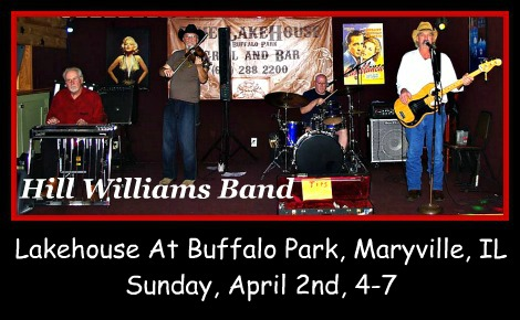 Hill Williams Band 4-2-17