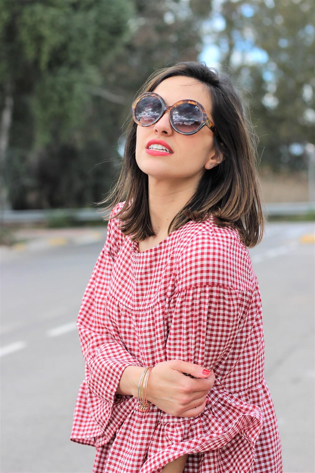 Look cuadros vichy rojo_ Rojo Valentino Blog (7)