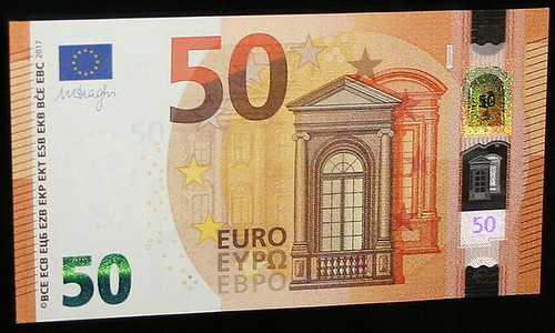 €50-Europa banknote