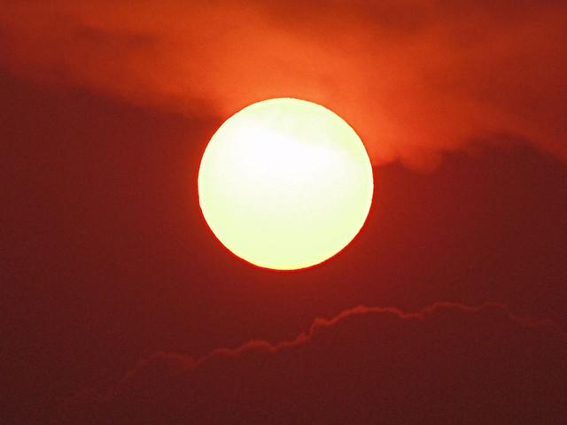 Sun At 18.00  - 277 Deg. West