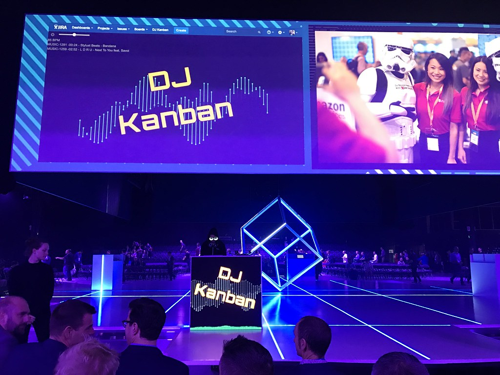 ... DJ Kanban | by Dushan and Miae & DJ Kanban | at AWS Summit 2017 - Sydney | Dushan Hanuska | Flickr