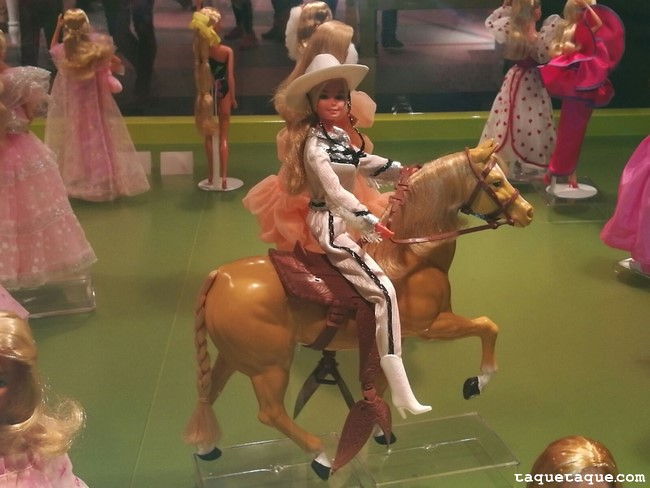 Barbies de 1980s (Barbie y su caballo)