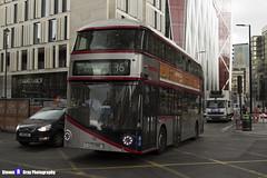 Wrightbus NRM NBFL - LTZ 1190 - LT190 - Silver - Cricklewood Bus Garage 16 - Metroline - London 2017 - Steven Gray - IMG_8815 - IMG_9275