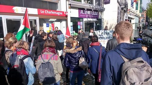 Liège. Rassemblement antifasciste contre le FN