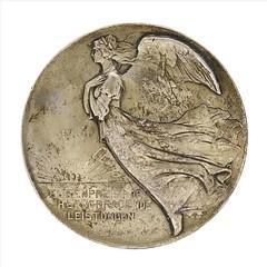 1899 German Deutcher Automobil Club Medal reverse