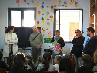 Da sinistra Angela Di Donna, Vito Cessa, Teresa Massaro, Piero Colombo