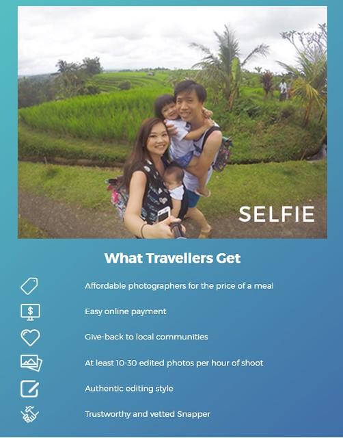 WanderSnap Selfie