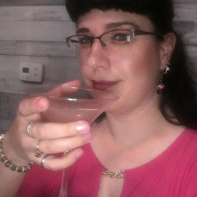 Spiced Pear Gimlet #birthdaygirl