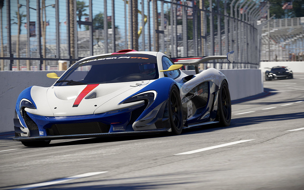 Mclaren P1 Gtr Project Cars 2 Www Projectcarsgame Com Flickr