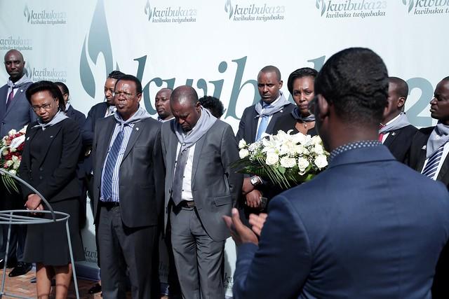 Ecobank Rwanda visit to Kigali Genocide Memorial for Kwibuka23
