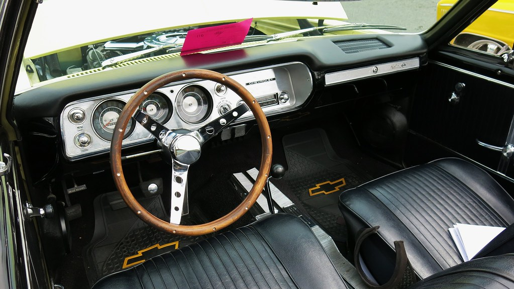1964 Chevrolet Chevelle Malibu SS Convertible / Interior ...