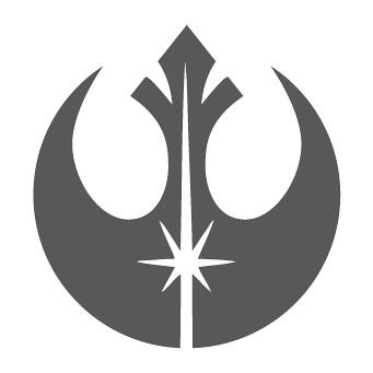 rebel alliance and jedi phoenix symbols combined