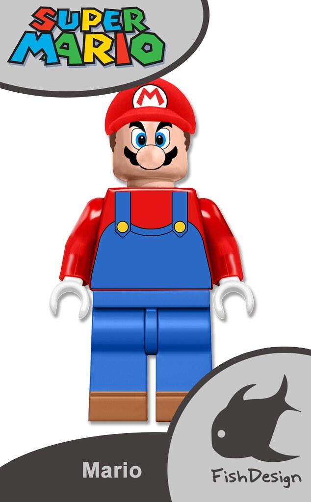 how to make a lego super mario