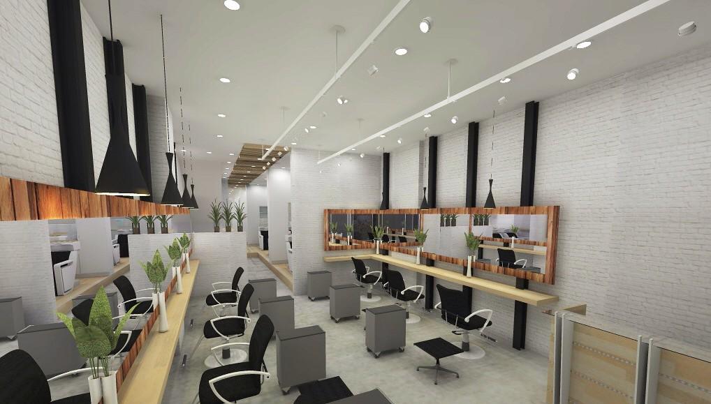 Hair salon interior 3D | pig1103pig | Flickr