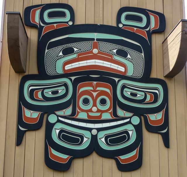 Pacific Northwest tribal art near Sequim
