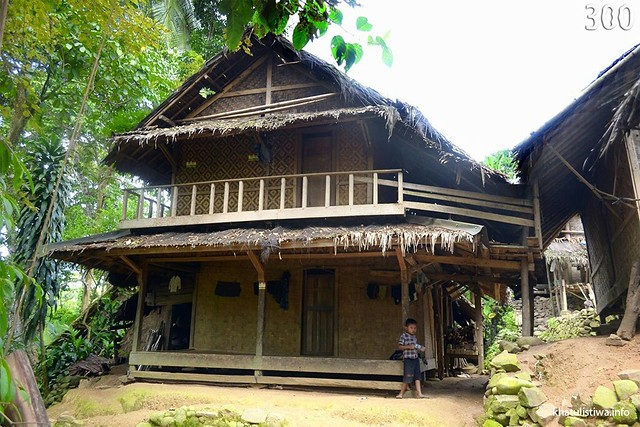 Download this Rumah Traditional Masyarakat Baduy picture