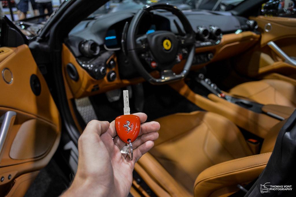 ... Ferrari F12 Berlinetta Key And Interior | By SCxDS_TOM