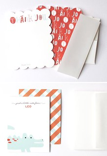 Minted Stationery for Leo | by thedailysmudge