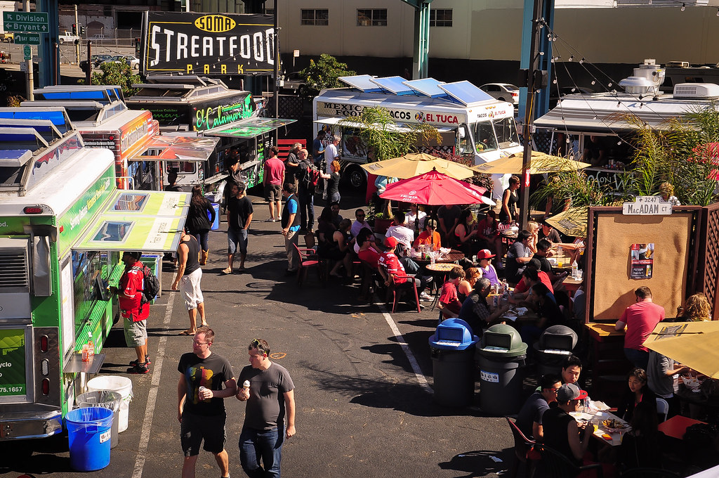 San Francisco Food Truck Park