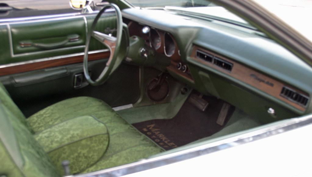 1973 Dodge Charger Se Interior Coconv Flickr