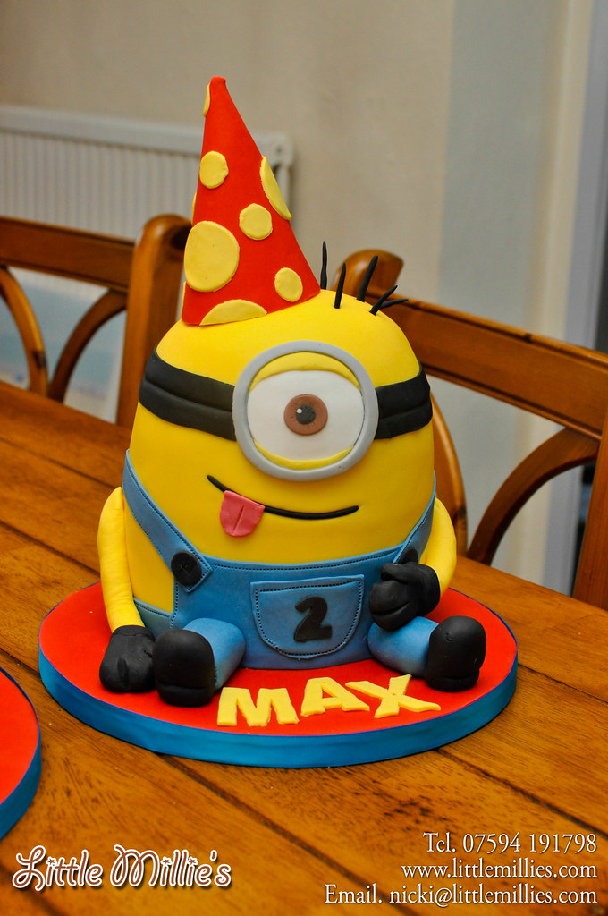 Minions Cake By Little Millies 7g Gary Sulter Flickr