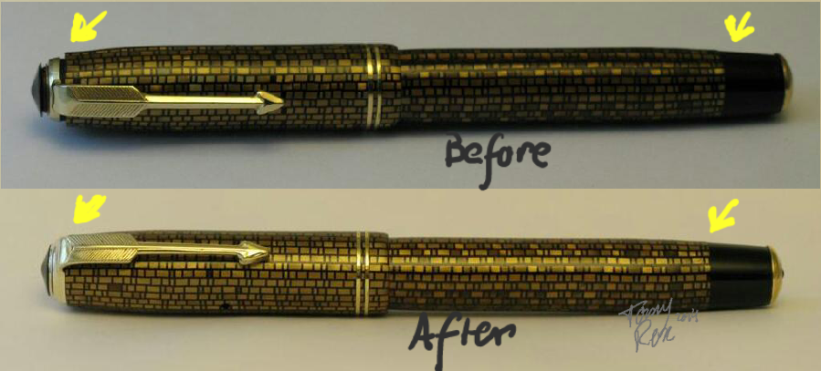Before and After Repair
