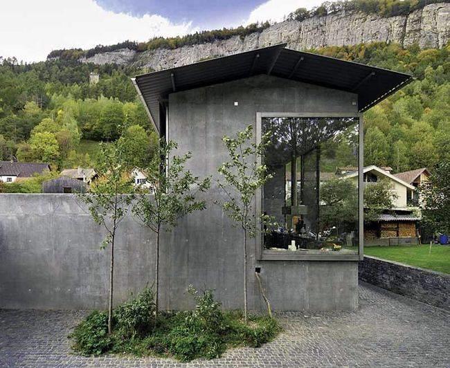 Peter Zumthor Architect S Own Home Haldenstein 2005 H Flickr