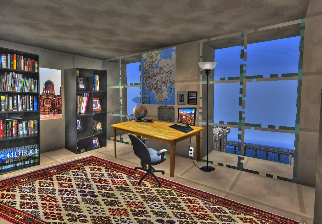 Minecraft My Minecraft Apartment Interior Basically
