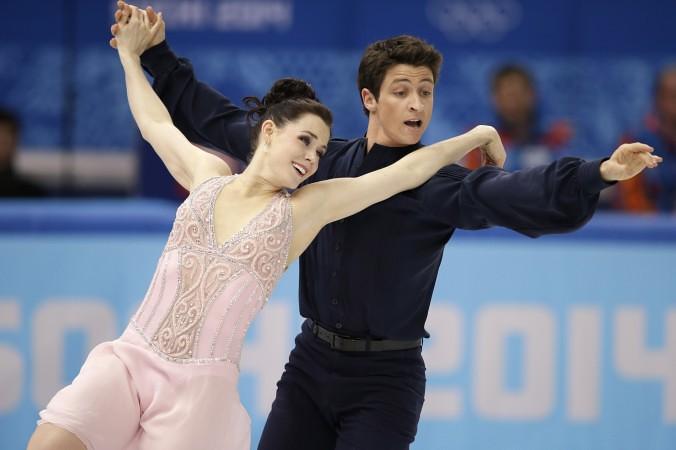 Ice dancing tessa virtue and scott moir dating