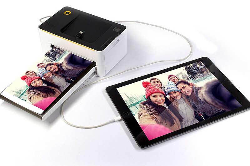 L'imprimante photo mobile la plus vendue sur Amazon : la Kodak Dock & Wifi 4 x 6