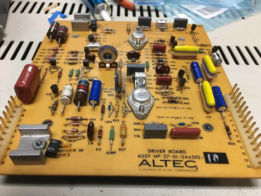 Altec 9440A Recap | Audiokarma Home Audio Stereo Discussion Forums
