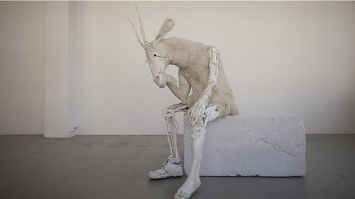 Pawel Althamer, Self-portrait as the Billy-Goat, 2011