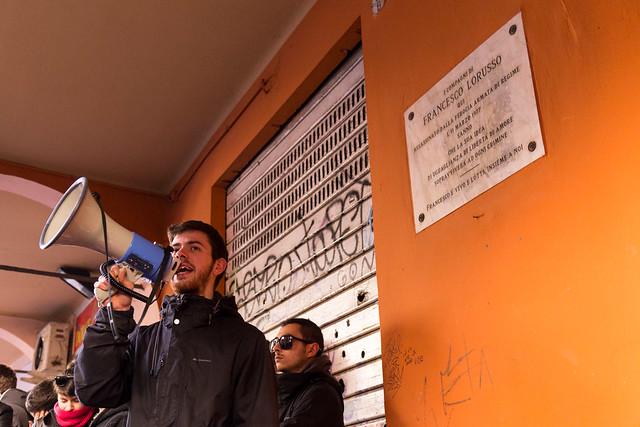 Commemorazione Francesco Lorusso