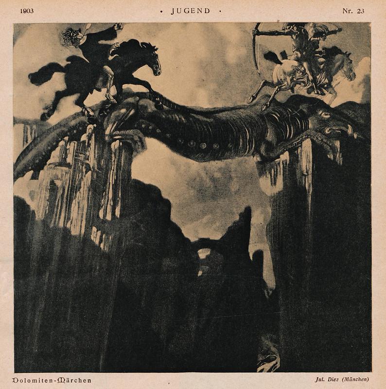 Julius Diez - Dolomitic Fairy Tales, 1903