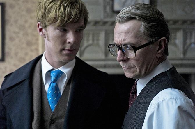 Guillam és Smiley - azaz Benedict Cumberbatch és Gary Oldman