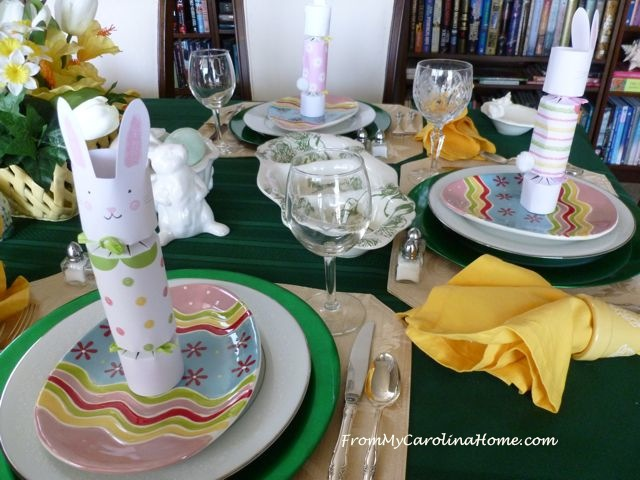Easter Decorating at From My Carolina Home