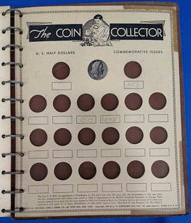 The Coin Collector half dollar page