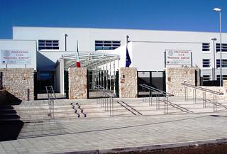 L'ingresso del Polo liceale
