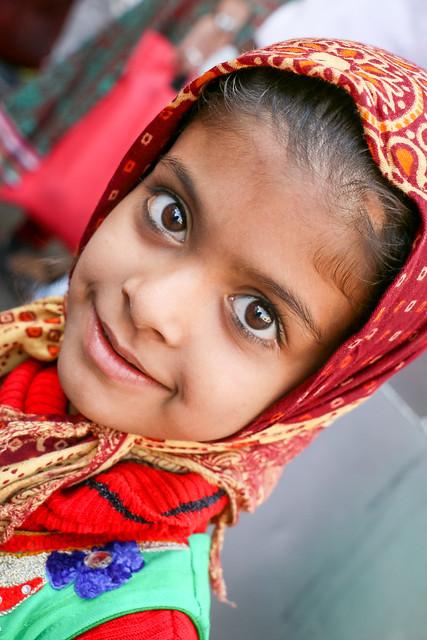 Lovely girl in Jodhpur, India ジョードプルのカワイ子ちゃん