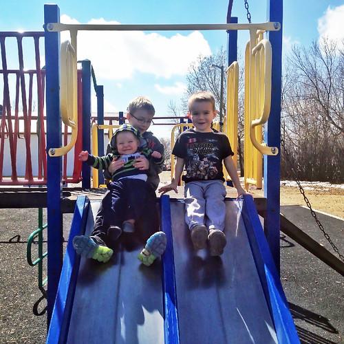 Boys at the park