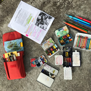"My Urban Sketcher's Workshop ""Creating Collections of Everyday Moments"" 